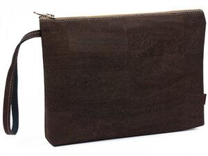 Edle Banktasche aus modischem Kork - Simaru