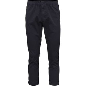 Loose pant with string inside  - Total Eclipse - KnowledgeCotton Apparel