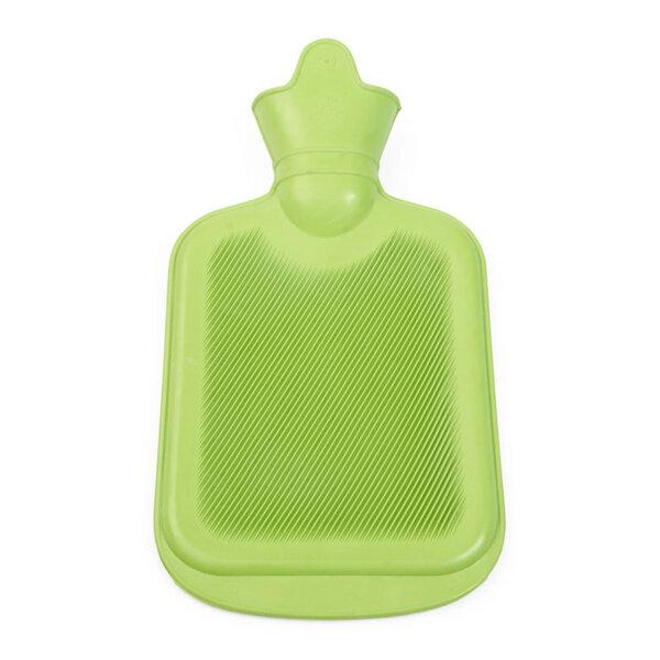 Grünspecht - Bio-Wärmflasche mit Bezug, 2l, Naturkautschuk ...