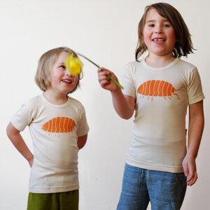Kinder T-Shirt Greta Assel natur - Cmig