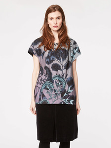 Jacobean Tencel Print Top  - Thought