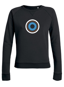 "Damen Sweatshirt aus Bio-Baumwolle ""Target"" - University of Soul"