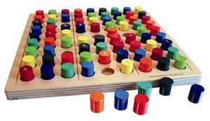 Brettspiel SUDOKU color - intellego holzspiele