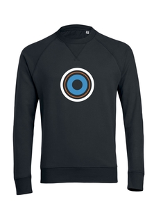 "Herren Sweatshirt aus Bio-Baumwolle ""Target"" - University of Soul"