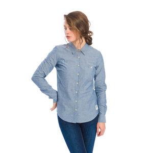 Oxford Damen Hemd Blau - bleed