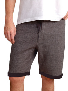 Terry Shorts - Asche - woodlike