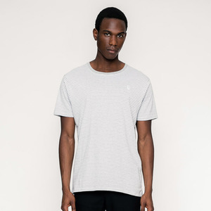LINES / Striped T-Shirt (fair & organic)  - Rotholz