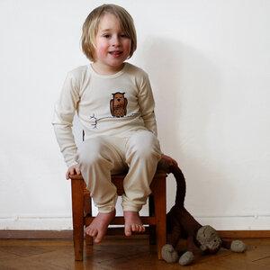 Kinder Schlafanzug Zweigeule - Cmig