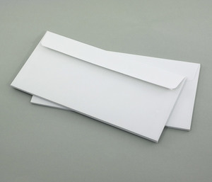 Briefumschläge C6/5, DIN lang, weiß, ohne Fenster - 10ér Set - Eco-Cards