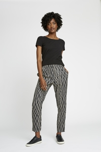 Aina Abstract Trousers  - People Tree