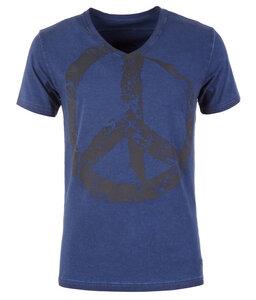 T-Shirt TASSO, blue - Kamah