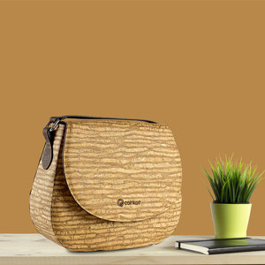 CORKOR SADDLE BAG Kork-Tasche - corkor