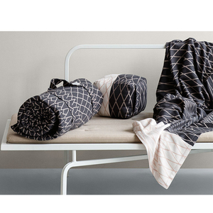 Tagesdecke - Relax Blanket - Grey/Rose - The Organic Company