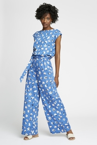 Stoffhose - Susie Floral Trousers - People Tree