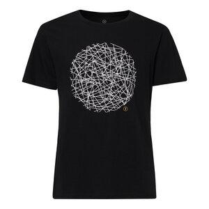 Neon T-Shirt Herren weiß/schwarz Bio Fair - ThokkThokk