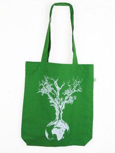 Fairwear Organic Tasche Weltenbaum - Life-Tree