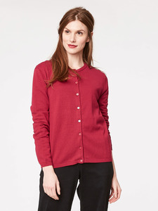 Morgan Wolle Cardigan - ruby - Thought