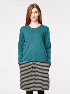 Morgan Wolle Jumper - emerald - Thought | Braintree