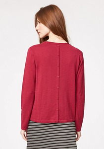Morgan Wolle Jumper - ruby - Thought