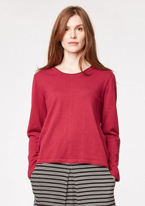 Morgan Wolle Jumper - ruby - Thought | Braintree