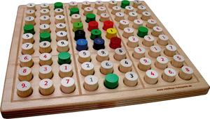 Brettspiel SUDOKU MOYO - für zwei! - intellego holzspiele