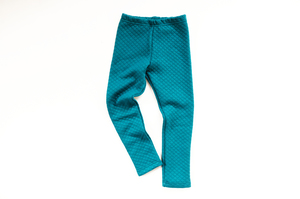 Stepp Leggings petrol Thermoleggings Winterleggings - betus