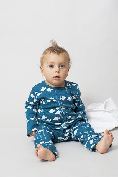 pitupi baby schlafanzug fische avocadostore. Black Bedroom Furniture Sets. Home Design Ideas