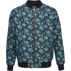 Bomberjacke - Pilot jacket with print - Total Eclipse - KnowledgeCotton Apparel