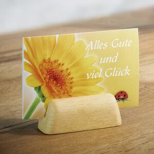 Kartenhalter Erle kurz - werk|inklusivo