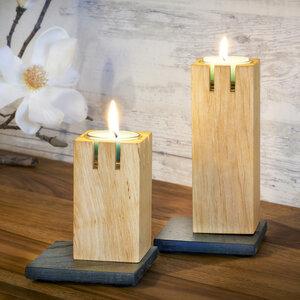 Kerzenleuchter 'Turmfeuer' klein - werk|inklusivo