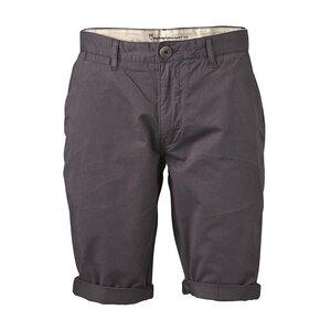 Twisted Twill Shorts - Phantom - KnowledgeCotton Apparel