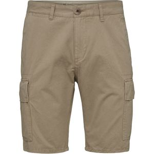 Cargo Shorts - Light Feather Gray - KnowledgeCotton Apparel