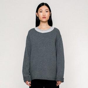 BASIC / Wide Collar Kashmir Sweater (fair)  - Rotholz