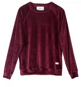 Red Velvet Sweater - thinking mu