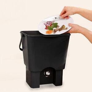 Organico BOKASHI - Komplett - Set , 2 Eimer plus 1 Kg Ferment - Organico
