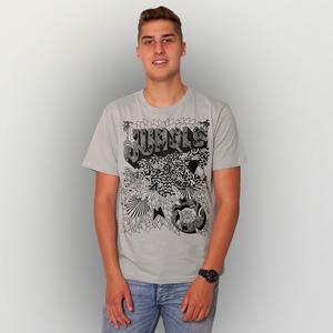 'Jungle' Männer T-Shirt FAIRWEAR ORGANIC - shop handgedruckt