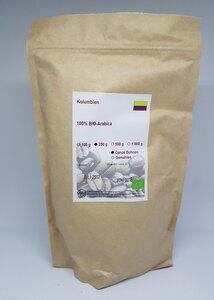 Kaffee Kolumbien - Bio zertifiziert - Kaffeerösterei Christopherus Haus