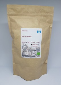 Kaffee Guatemala - Bio zertifiziert - Kaffeerösterei Christopherus Haus