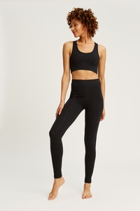 Yoga Leggings Black - People Tree