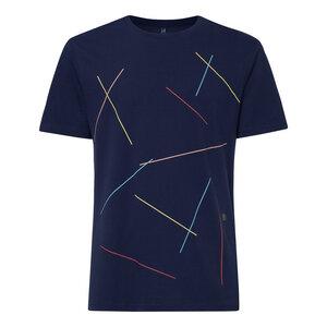 Mikado T-Shirt Herren dunkelblau Bio Fair - THOKKTHOKK