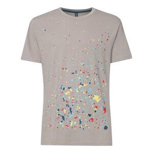 Splash T-Shirt Herren hellgrau Bio Fair - THOKKTHOKK