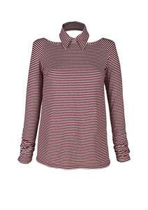 Convertible Collar-shirt - Les Crevettes