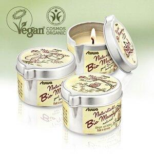 Vegane BIO Massagekerze  - Stuwa