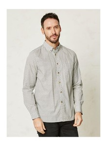 Claude Cotton Shirt - white - Thought | Braintree