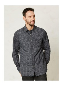 Henri Cotton Shirt - blue - Thought | Braintree