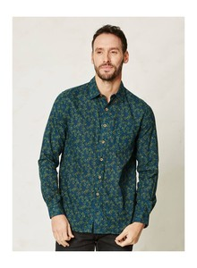 Horace Hemp Shirt -olive - Thought | Braintree