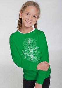 "Bio-Kindersweatshirt ""Ganesha"" - Peaces.bio - Neutral® - handbedruckt"