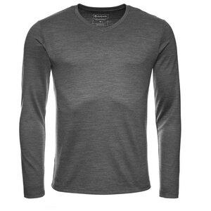 Kaipara Merino Shirt V-Neck Langarm Slimfit 270 - Kaipara - Merino Sportswear