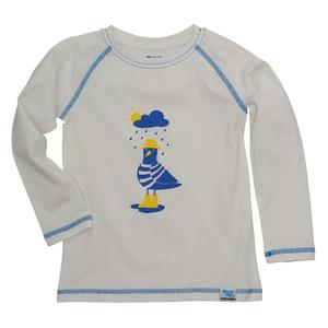 IceDrake Kinder Langarm-Shirt Möwe (weiß) - IceDrake