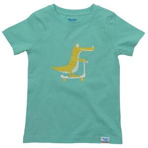 IceDrake Kinder T-Shirt Krokodil (mintgrün) - IceDrake